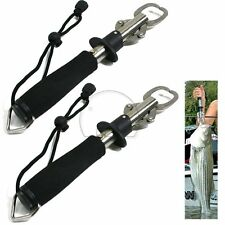 2x Fish Grip Lip Trigger Lock Fishing Tackle Gripper Grabber Grab Scale Tool