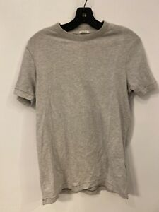 Abercrombie & Fitch Men's Super Soft Muscle T-shirt Light Gray Size Small