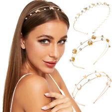 Fashion Women's Crystal Headband Wave Slim Butterfly Hairband Hair Accessories