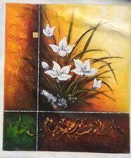 """Modern Flower ART OIL PAINTING 20x24"""""""