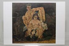 Egon Schiele: The Family (1918)  Kunst-Postkarte