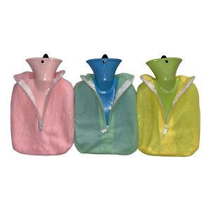 kleine Wärmflasche mit einer Decke Wärmekissen Wärmflaschen flauschiger Bezug En