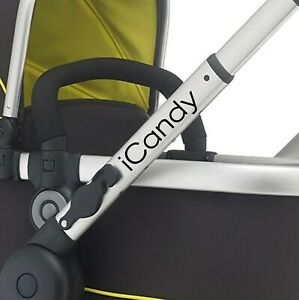 ICANDY Replacement pram logos. Vinyl decal pushchair, stroller. Transfer sticker
