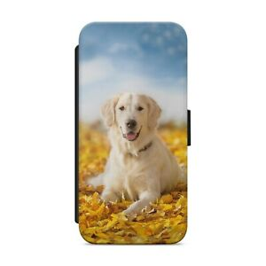 Beautiful Labrador Dog WALLET FLIP PHONE CASE COVER FOR IPHONE SAMSUNG       z21
