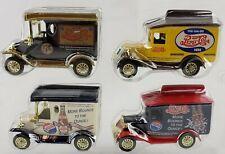 Vintage Golden Wheel 4 Small Pepsi Cola Car Trucks Diecast Mint New no box