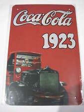 REF 301 Cartel Placa Metal 20X30CM 150gr - Coca Cola Coke cochesaescala