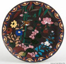 Japan 20. Jh. A Japanese Cloisonne Enamel Wall Plaque Piatto Giapponese Japonés
