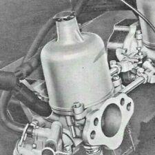 SU Vergaser Überholung Reparatur Rolls Royce Triumph Jaguar MG KOSTENVORANSCHLAG