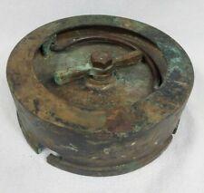 """Rare 1905 Wwi British 6"""" Bl Mark Vii Naval Gun Barrell Plug? Round Carrier?"""