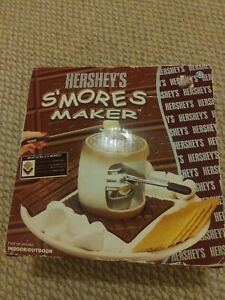 Hershey's S'mores Maker 10409H Indoor Outdoor Never Used Opened Box Brown