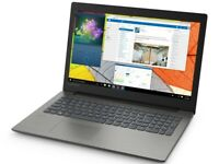 LENOVO 15.6in gaming LAPTOP AMD 3.4Ghz with 8GB 1TB DVDRW Win 10 Silver