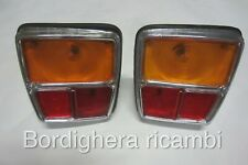 SIMCA 1000 RALLY FANALE POSTERIORE REAR LAMPS LENS TAIL FEU ARRIERE LIGHT NEW