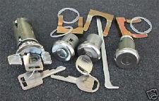 1979-1988 Chevrolet Monte Carlo Ignition Door Trunk Locks