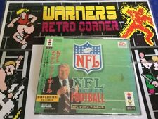 Panasonic 3do 3d0 Game #retrogaming NFL Madden Football  New Sealed