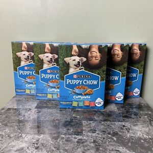 (Lot of 4) NEW Purina Puppy Chow Healthy Start Complete Chicken & Rice Dog Food