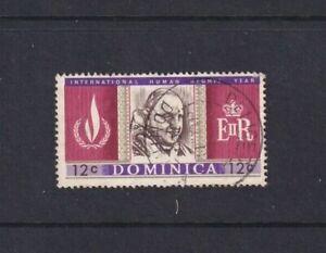 Dominica - 1968 - Human Rights Year - SG 211 - 12c - Pope John XXIII - Used 2131