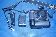 Nikon D200 DSLR Digital Camera Body, Battery Grip, Charger 9676 Shutter Clicks