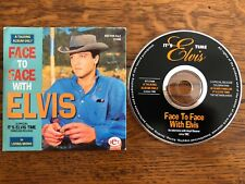 "ELVIS PRESLEY CD "" FACE TO FACE WITH ELVIS "" promo"