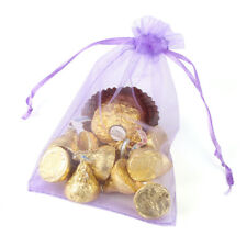 Organza Wedding Party Favor Bags 4x6 Inches Decoration Gift Candy Sheer Pouches
