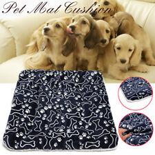 Pet Mat Large Dog Bed Cat Mat Soft Plush Warm Cushion Resistant Washable P +Usa