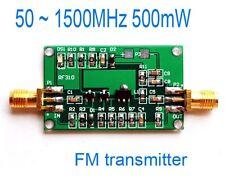 50 ~ 1500MHz 500mW RF power amplifier FM transmitter broadband 3V ~ 9v