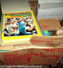1981 TOPPS STICKER ALBUM baseball NEW unused @ $4.00 EACH
