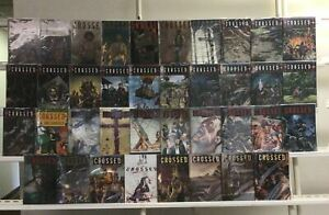 Crossed Avatar Press 38 Lot Comic Book Comics Set Run Collection Box