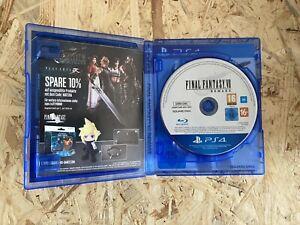 Final Fantasy 7 - VII - Remake PS4 - wie NEU!