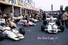 Yardley BRM F1 TEAM PIT AREA ITALIANA GRAND PRIX 1971 FOTOGRAFIA