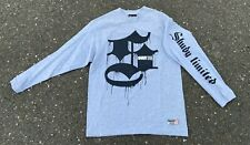 Men's Retro Eminem Shady Limited Gray Longsleeve Shirt Size Medium Rap T-shirt