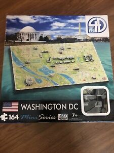 4D Mini Washington DC Puzzle