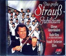 Schöne CD: André Rieu - Das große Strauß-Jubiläum -  Wiener Sängerknaben