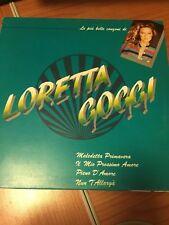 LP LE PIU' BELLE CANZONI DI LORETTA GOGGI WEA 240883 1 VG/EX+ ITALY PS 1986 RAI