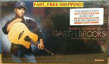 Garth Brooks~ Blame It All on My Roots Five Decades of Influences PRIORITY SHIP!