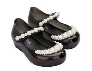 Mini Melissa Pearl Sandals Toddler Baby Infant Kids Little Girls Shoes US 6-11
