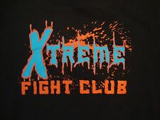 MMA Xtreme Fight Club 2012 Fights Schedule Paint Splatter Graphic T Shirt L