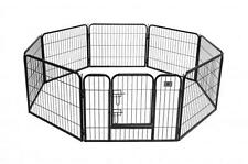 "Hammigrid 24"" 8 Panel Heavy Duty Pet Playpen Dog Exercise Pen Cat Fence New"
