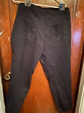 gloria vanderbilt amanda jeans 18w Black