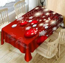 Tovaglia da tavola natale tessuto antimacchia Marta Marzotto natalizia 140x240cm