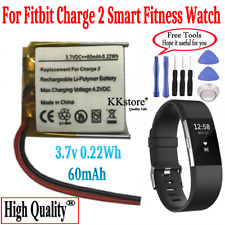 Fitbit Charge 2 Smart Fitness Watch New Replacement 60mAh 0.22Wh Battery for