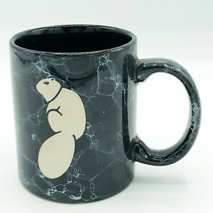 Squirrel Marble Style Color Craft Mug