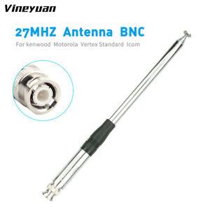 1X 130CM/51.18inch 27MHz CB Radio Telescopic Antenna BNC Male Connector Radio