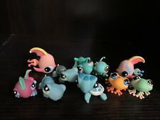 Lot Of 10 Littlest Pet Shop Turtles Frogs Fish Cute