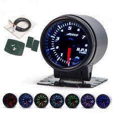 "2"" 52mm 7 Color LED Auto Car Tachometer Gauge Meter Pointer Universal Meter"