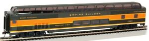 HO - 85' Budd Full Dome Car -Lighted Interior - GREAT NORTHERN - BAC-13003 A