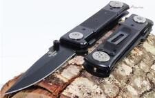 """8"""" Tac-Force-Snake-Eye-G-10-German-Style-Dagger-Spring-Assisted-Pocket-Knife"""