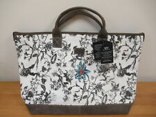 Osprey London Large Eden Canvas & Leather Tote Bag RRP £145 BNWT