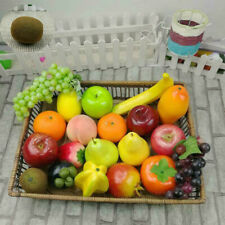 Realistic Lifelike Artificial Plastic Display Home Food Decor Fruit kitchen Fake
