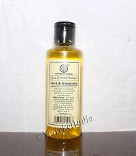 Khadi Herbal Shampoo Honey & Lemon Juice Herbal Product Natural Goodness 210ml