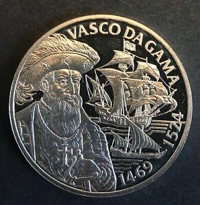 Silver Token - 25.3 g (.925) - 'Audax in Undis Europa: Vasco da Gama' - Proof
